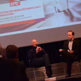 Prof. Stephan Rammler und Dr. Stephan Klecha (rechts)