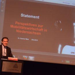 Dr. Gunnar Merz, Geschäftsführender Vorstandsvorsitzender CFK-Valley aus Stade