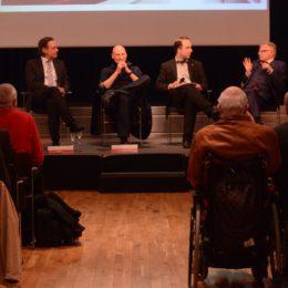 Diskussionsrunde im Alten Rathaus