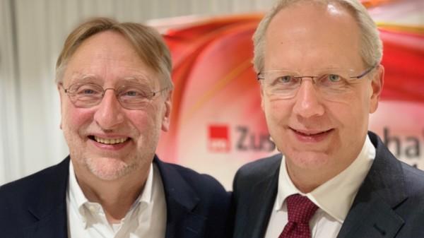 Bernd Lange und Stefan Schostol