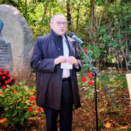 Grußwort von Norbert Walter-Borjans am Kurt-Schumacher-Gedenkstein in Wennigsen