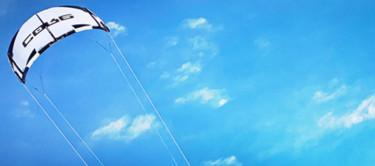 Symbolbild Konjunkturpaket (Kitesurfer)
