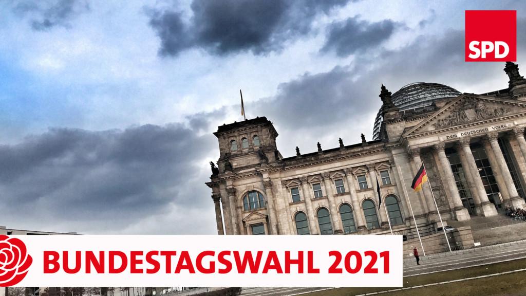 Symbolbild Bundestagswahl 2021, Reichstagsgebäude in Berlin