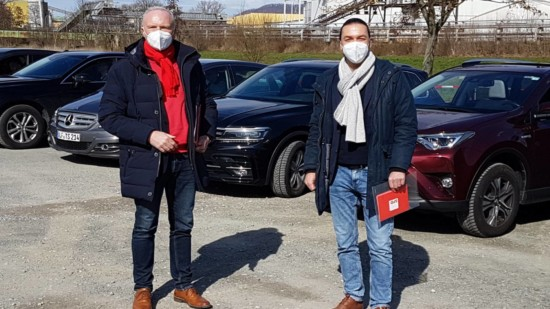 Bernd Westphal MdB (links) und Bernd Lynack MdL