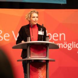 Eröffnung des Parteitages durch die stellvertretende Vorsitzende Svenja Stadler
