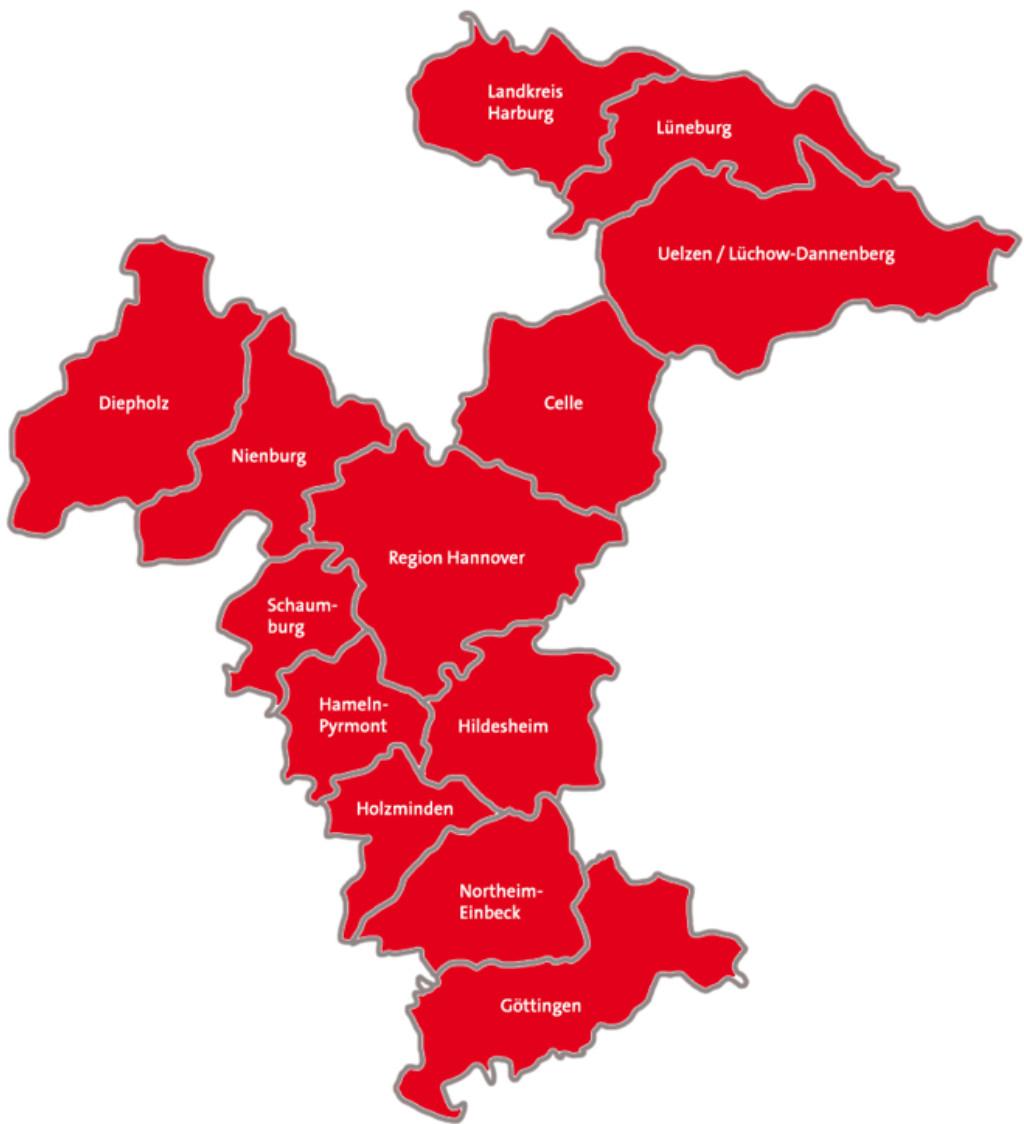 Der Bezirk Hannover seit 1. Januar 2016