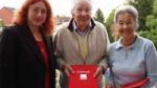 Monika Griefahn, Friedrich und Brigitte Wenzlau