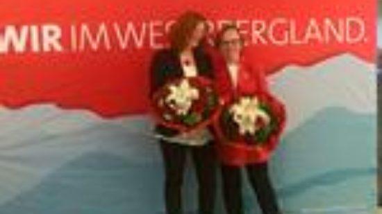 Barbara Fahncke und Gabiele Lösekrug-Möller