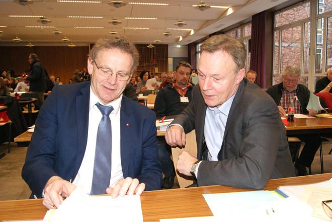 Kalr Heinz Hausmann und Thomas Oppermann