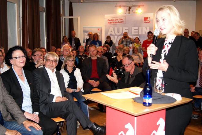 Manuela Schwesig in Grone
