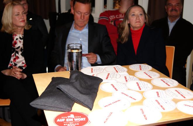 Manuela Schwesig, Thomas Oppermann und Gabriele Andretta