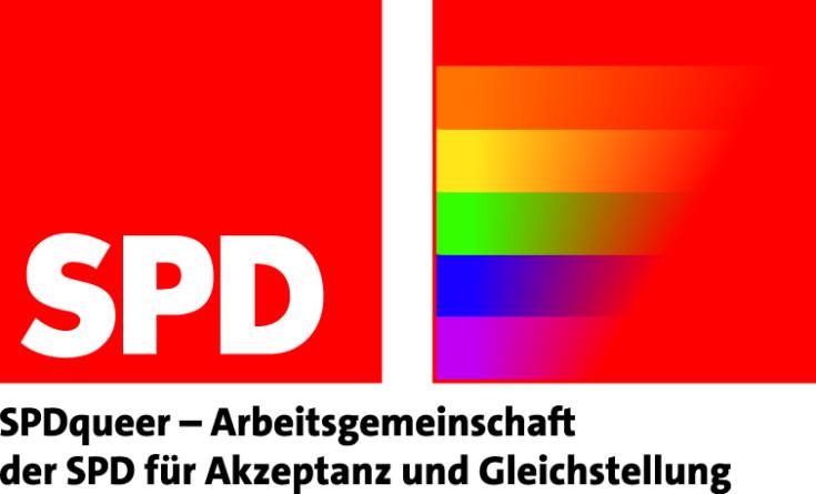 Das Logo der AG SPDqueer