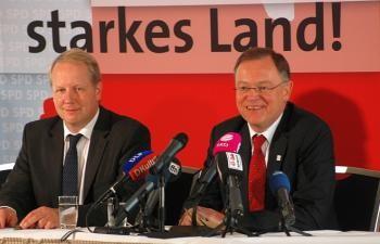 Stefan Schostok und Stephan Weil