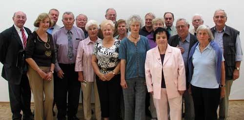 Die Mitglieder des neugewählten Vorstandes.