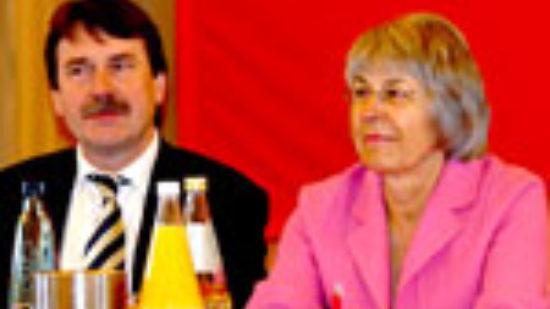 Wolfgang Jüttner und Hedi Wegener