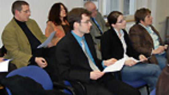Foto: Tagung der Auswertungskommission