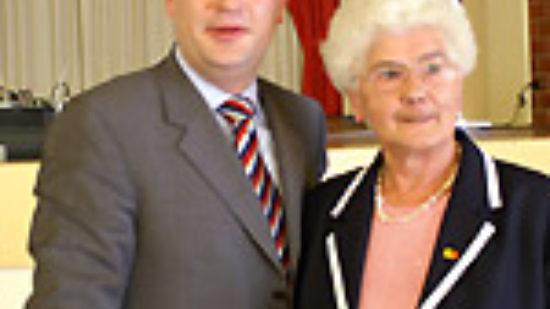 Foto: Hubertus Heil und Frieda Riegel