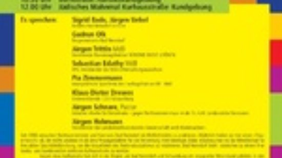 Landesaufruf - Bad Nenndorf