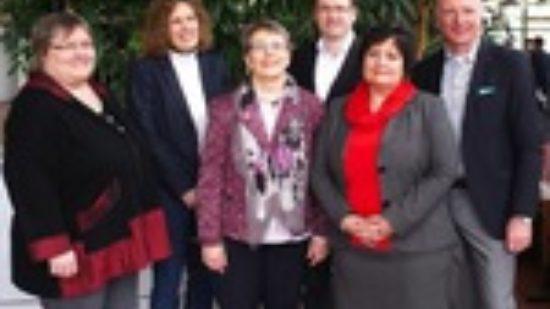 Die Spitze des neuen UB-Vorstandes in Hildesheim