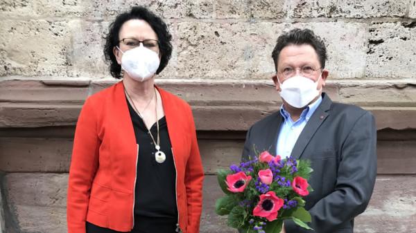 Doris Glahn und Dr. Andreas Philippi